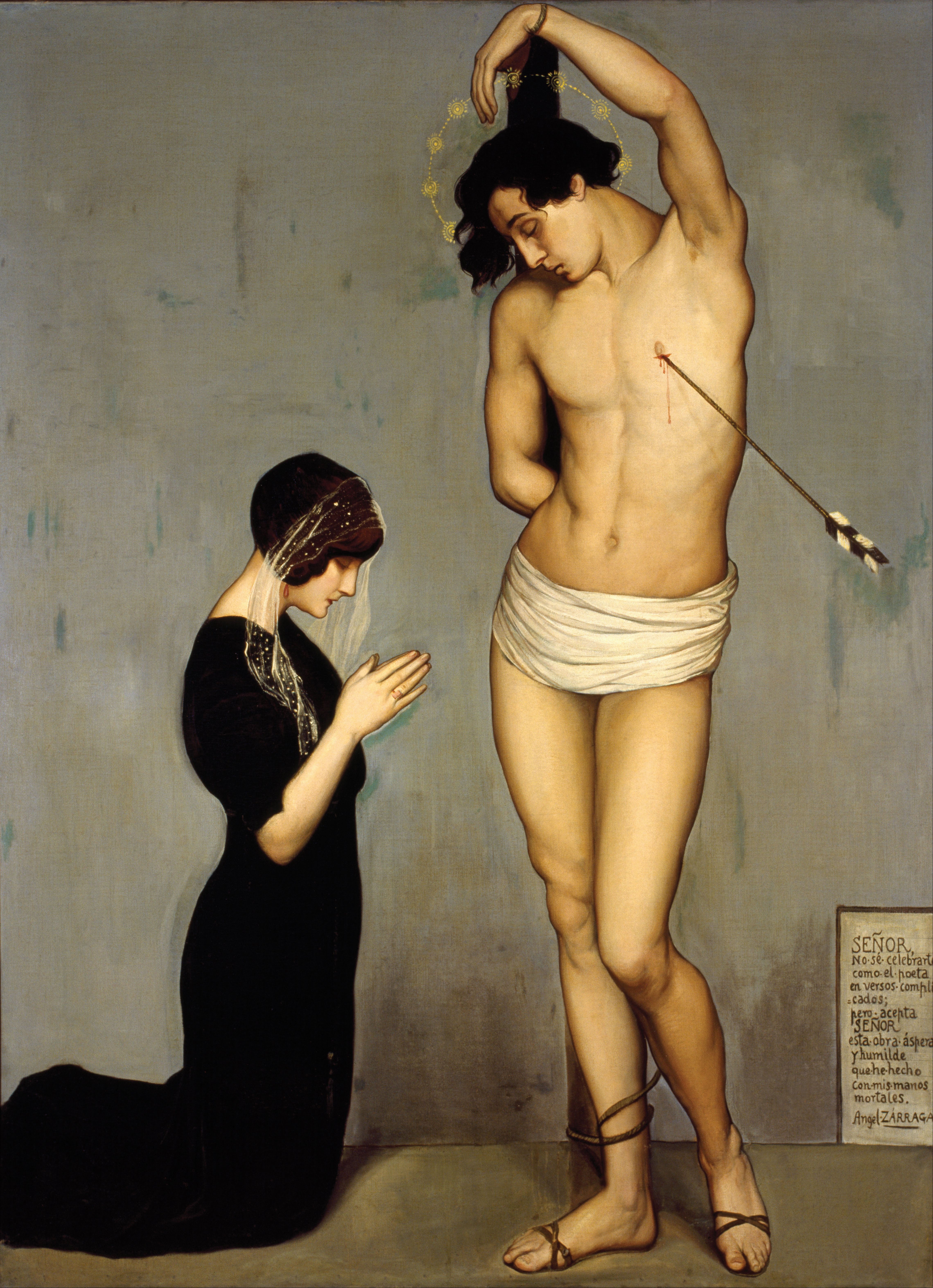 Ángel Zárraga - Votive Offering (Saint Sebastian) - Google Art Project.jpg