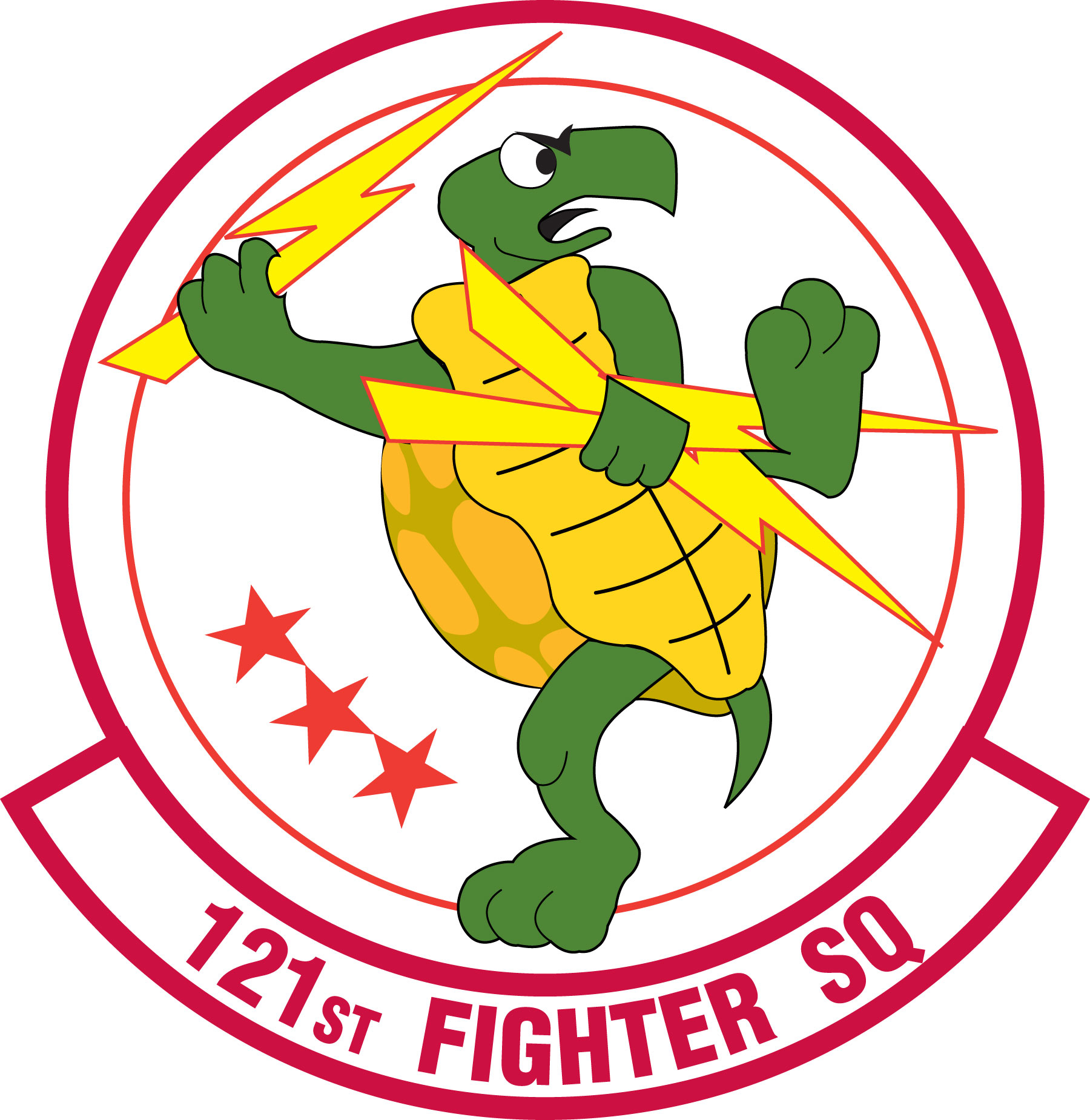 Fighter Squadron Logo 121st Fighter Squadron Emblem
