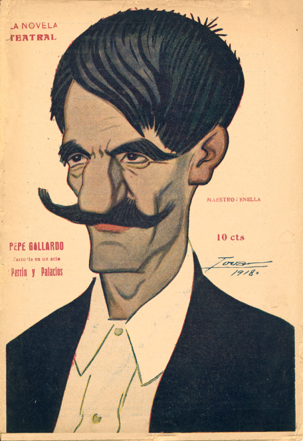 Caricaturizado por Tovar (1918)
