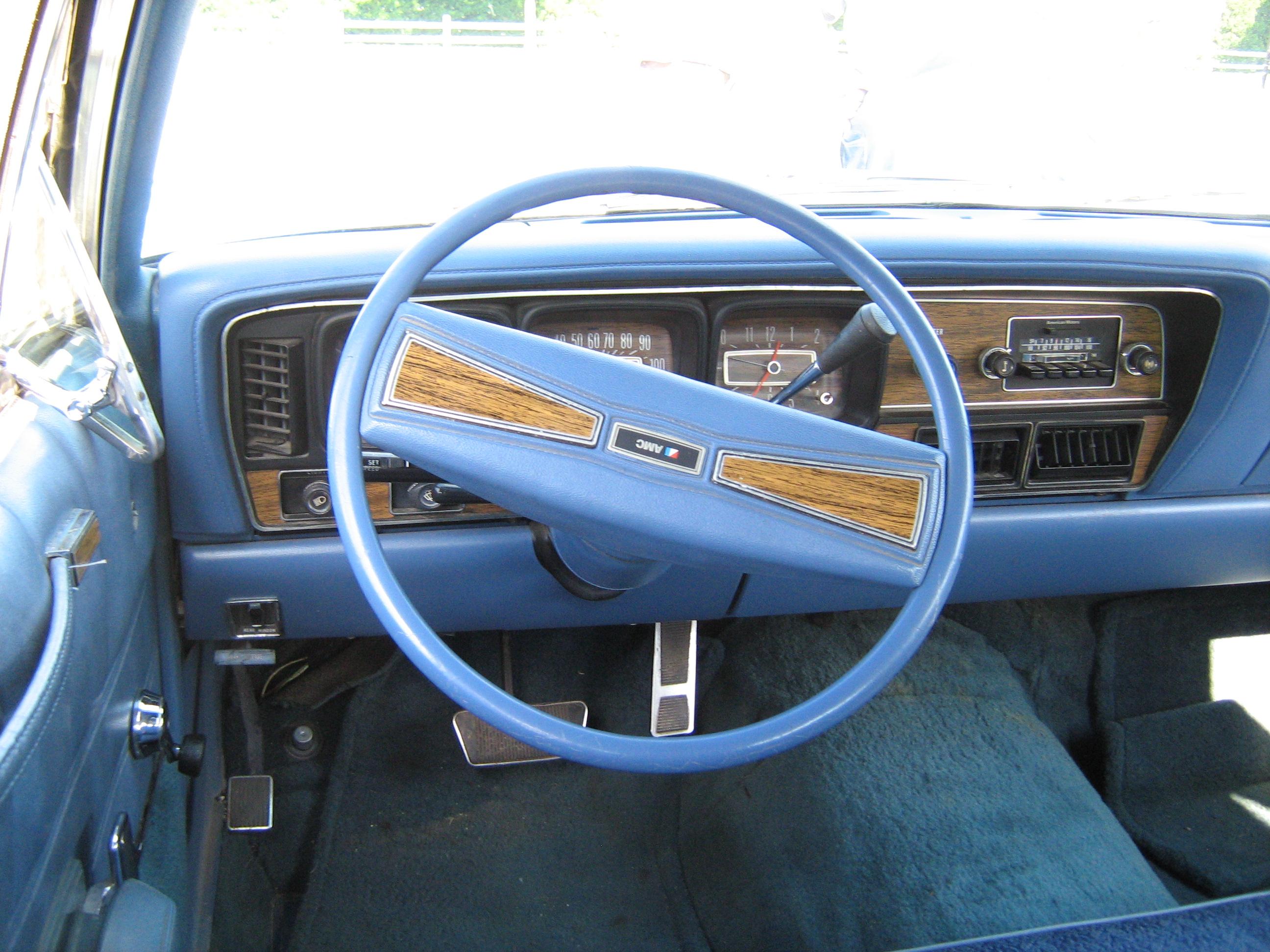 file 1974 amc ambassador sedan blue white kenosha wikimedia commons. Black Bedroom Furniture Sets. Home Design Ideas