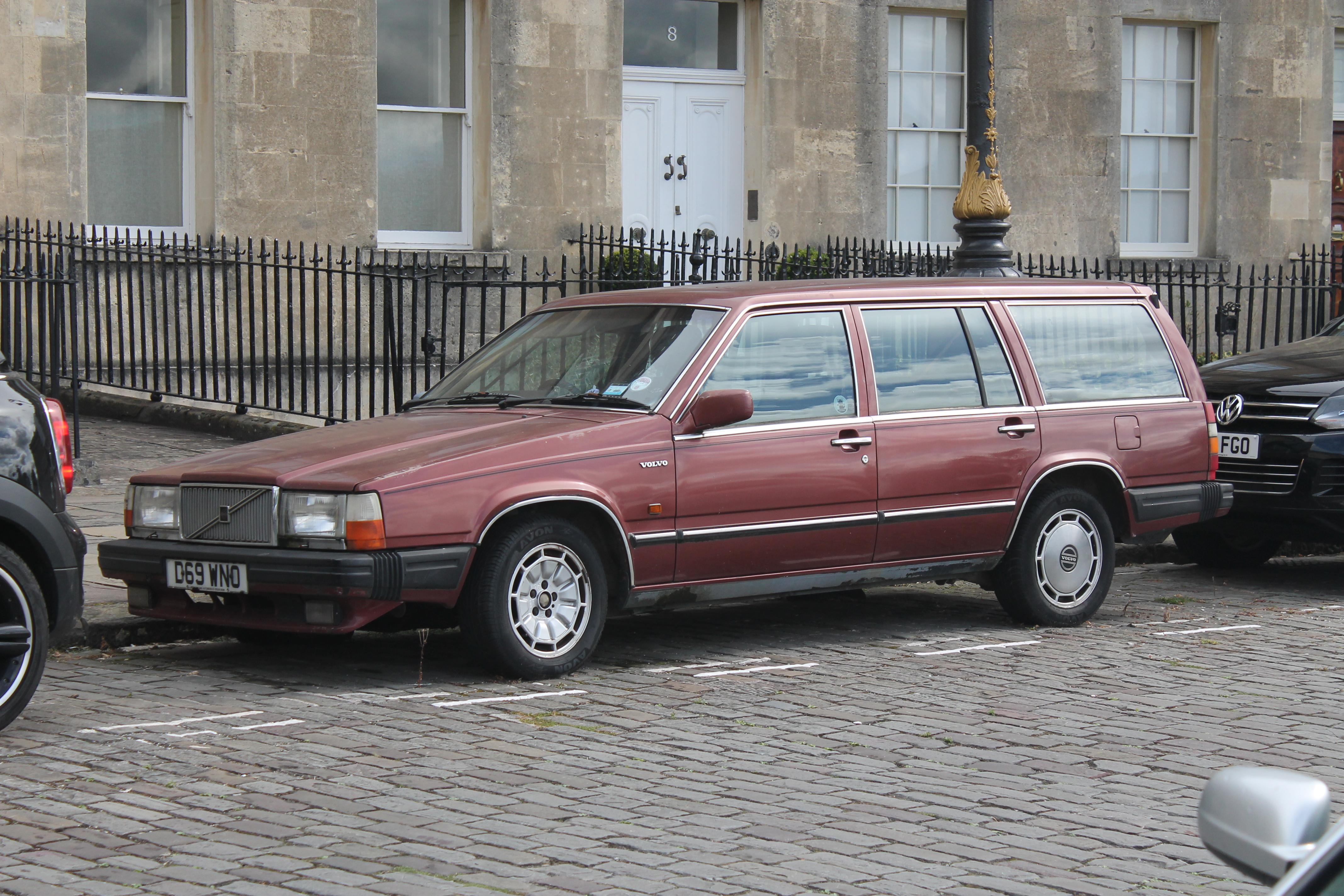 1987 volvo 760