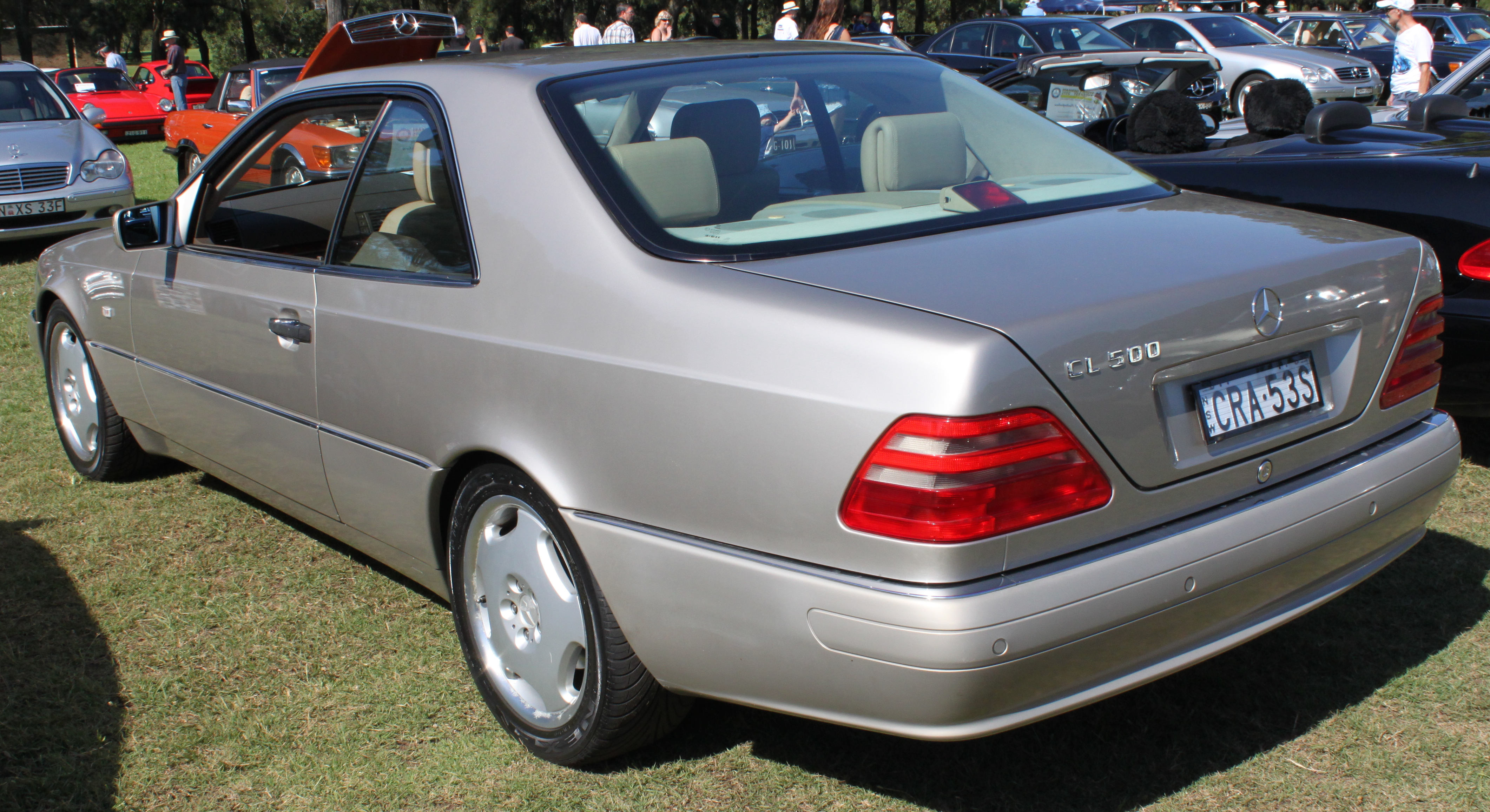 File 1997 Mercedes Benz Cl 500 C 140 Coupe 16701615781 Jpg