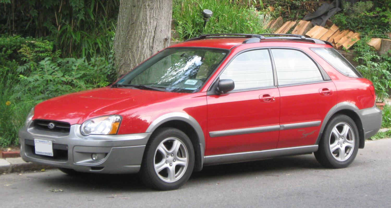 File:2004-2005 Subaru Outback Sport.jpg - Wikimedia Commons