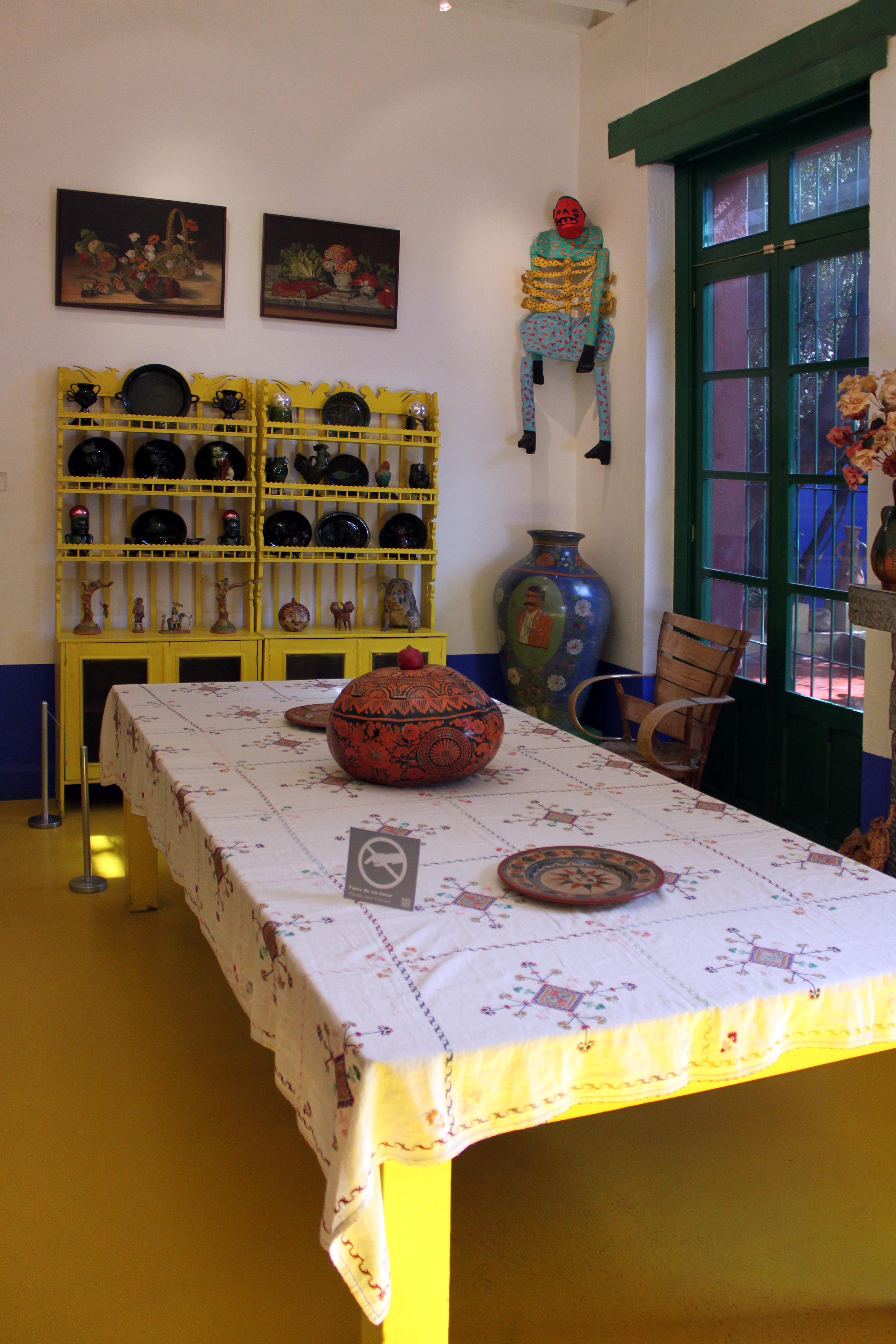 File:2013 12 22 Esszimmer Frida Kahlo Museum Mexico City Anagoria.JPG