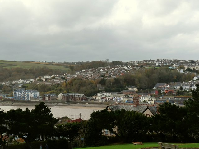 A view of the South of Bideford - geograph.org.uk - 1588243