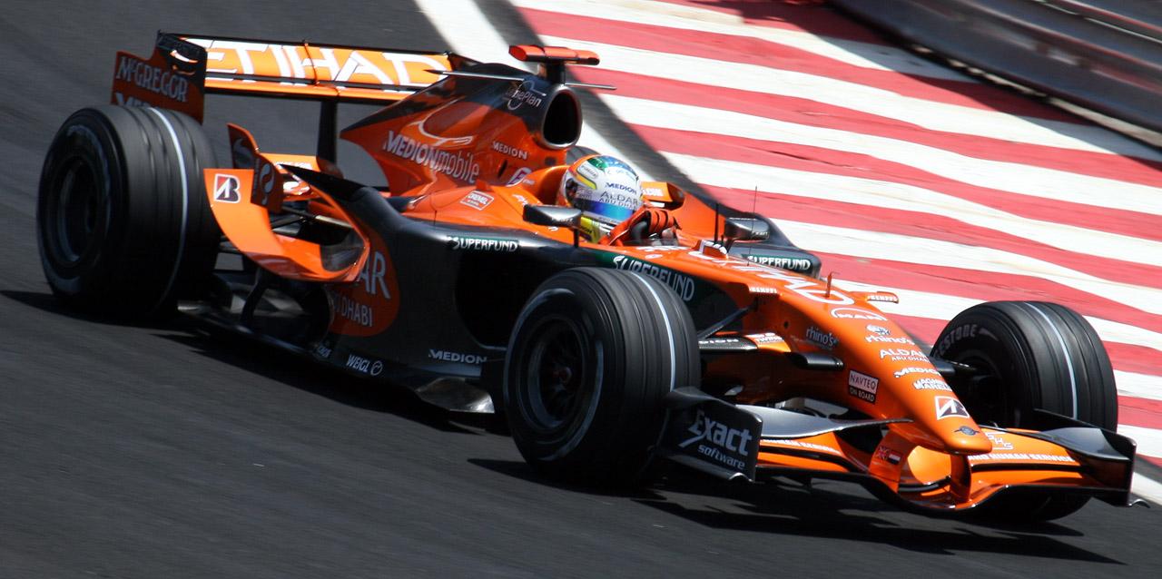 F1C] Spyker F1 Team-Ferrari F8-VII @ Nürburgring with Markus ...