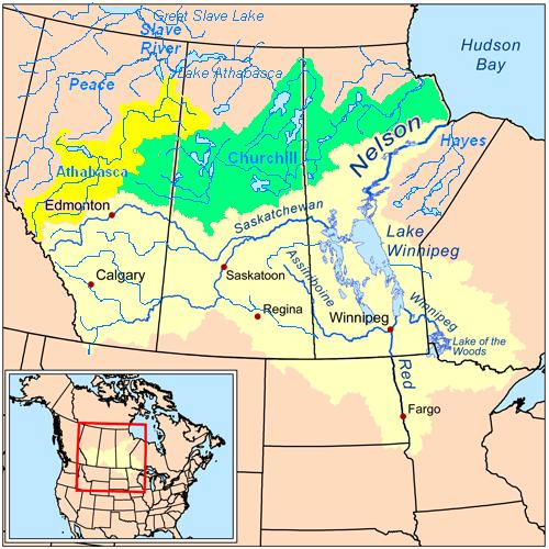 List Of Rivers Of Saskatchewan Wikiwand - Rivers of world list
