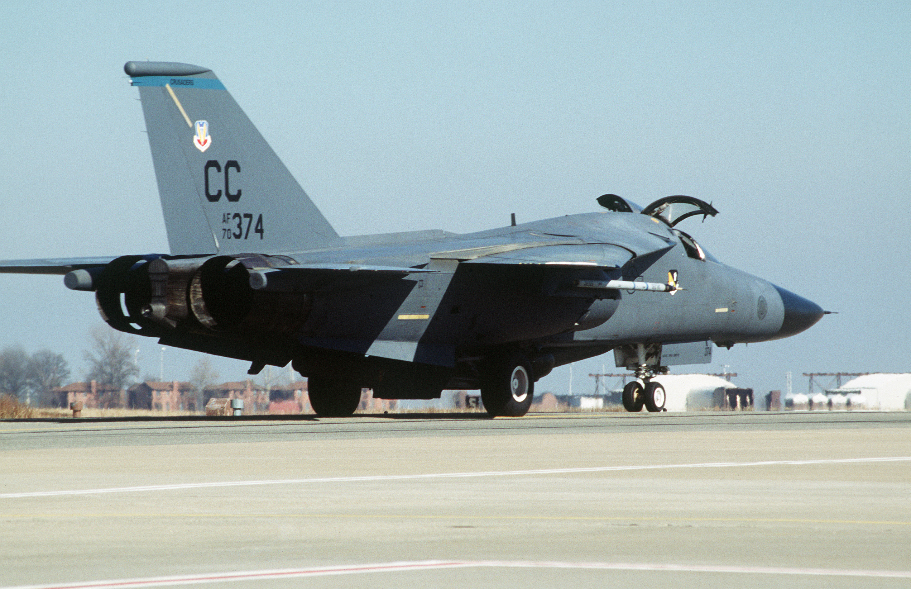 File:An F-111 from the 523rd Fighter Squadron, 27th ...