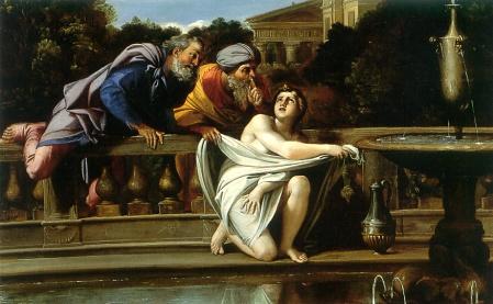 Annibale Carracci: Susanna e i vecchioni