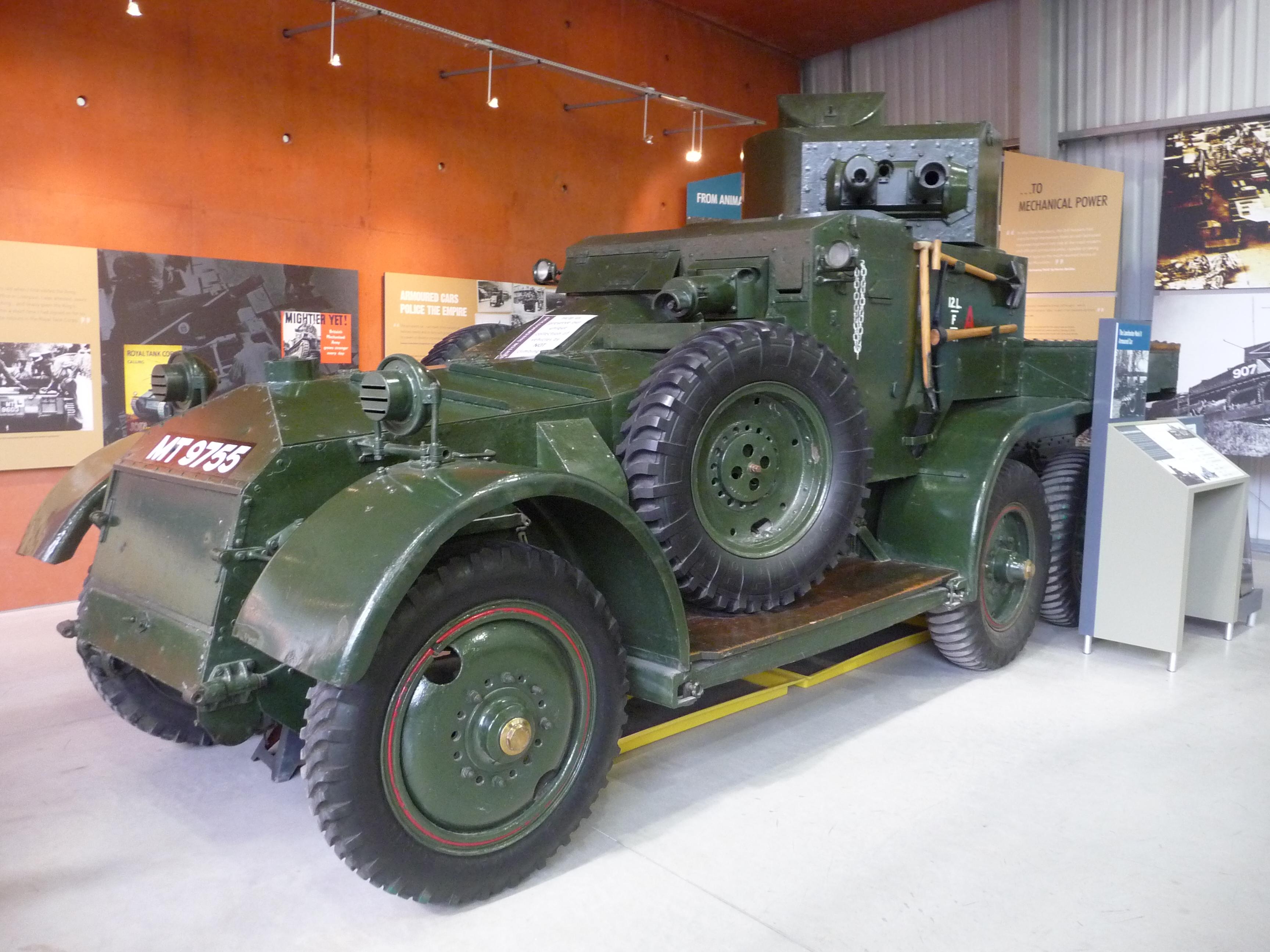 File Armoured Car Lanchester Mark Ii 4536129061 Jpg