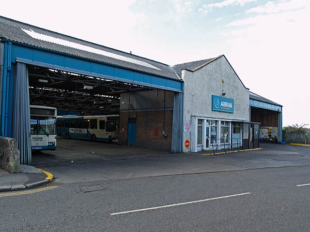 File:Arriva bus depot in Loftus, North Yorkshire 16 October 2007.jpg ...