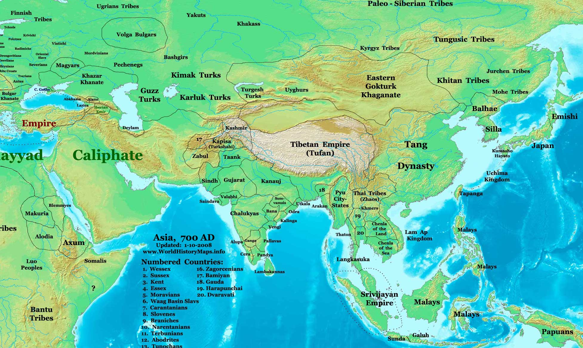 Map Of Asia In 700 Ad.File Asia 700ad Jpg Wikimedia Commons