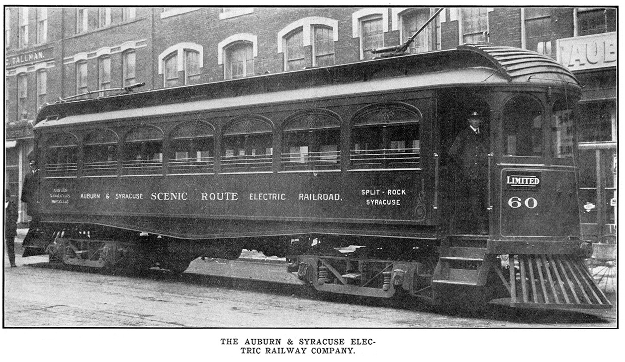 Road And Track >> Auburn and Syracuse Electric Railroad - Wikipedia