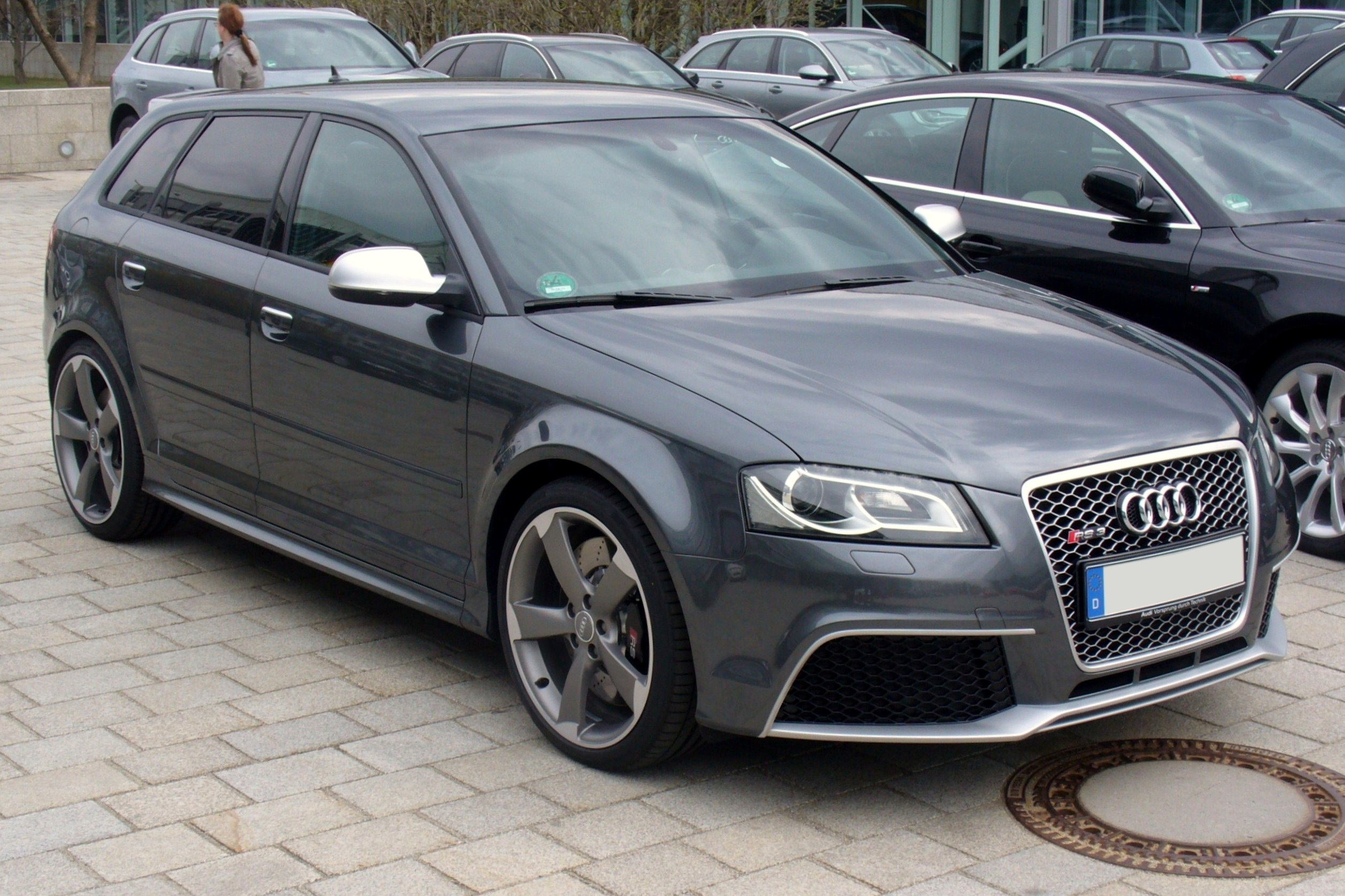 file audi rs3 sportback daytonagrau jpg wikimedia commons. Black Bedroom Furniture Sets. Home Design Ideas
