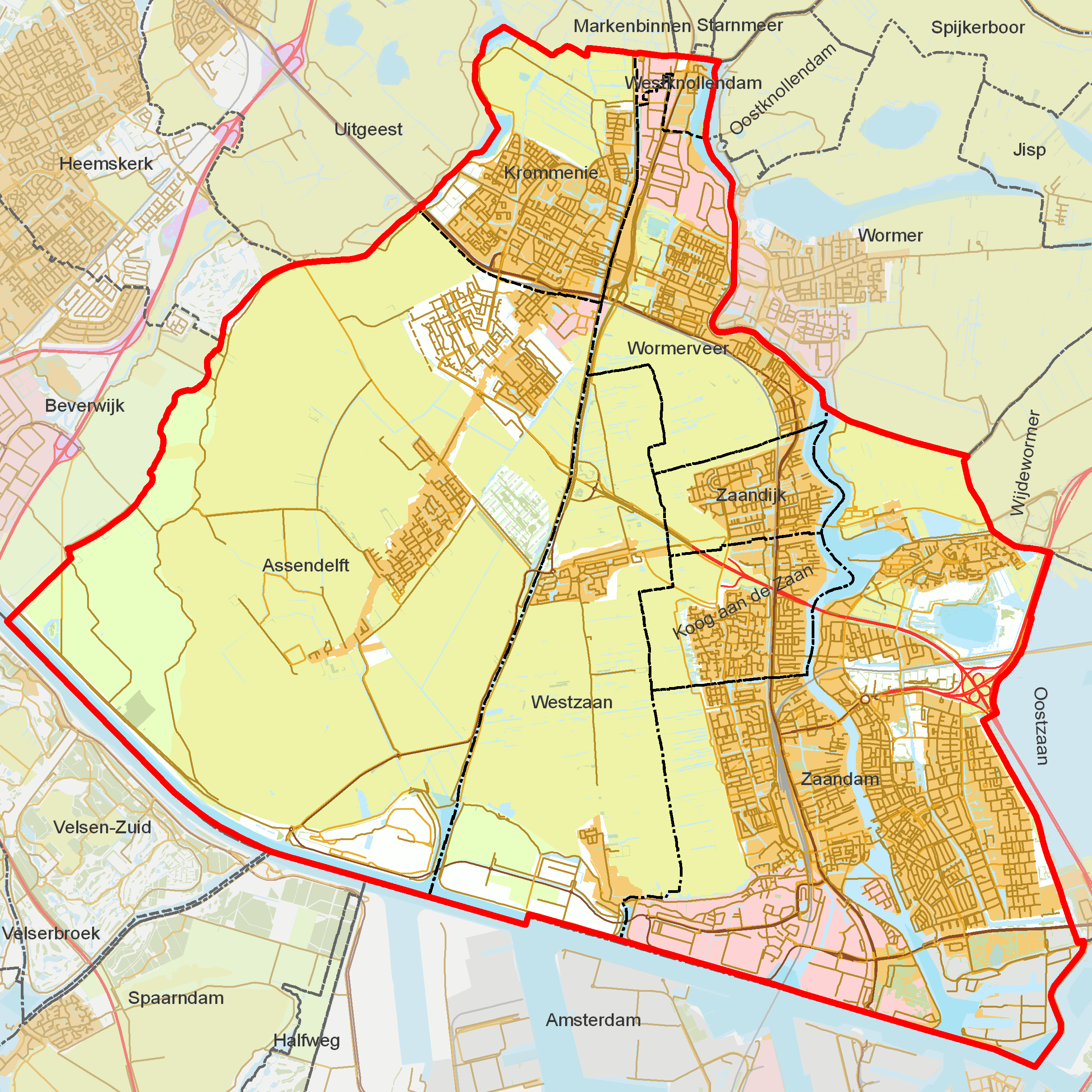 FileBAG woonplaatsen Gemeente Zaanstadpng Wikimedia Commons