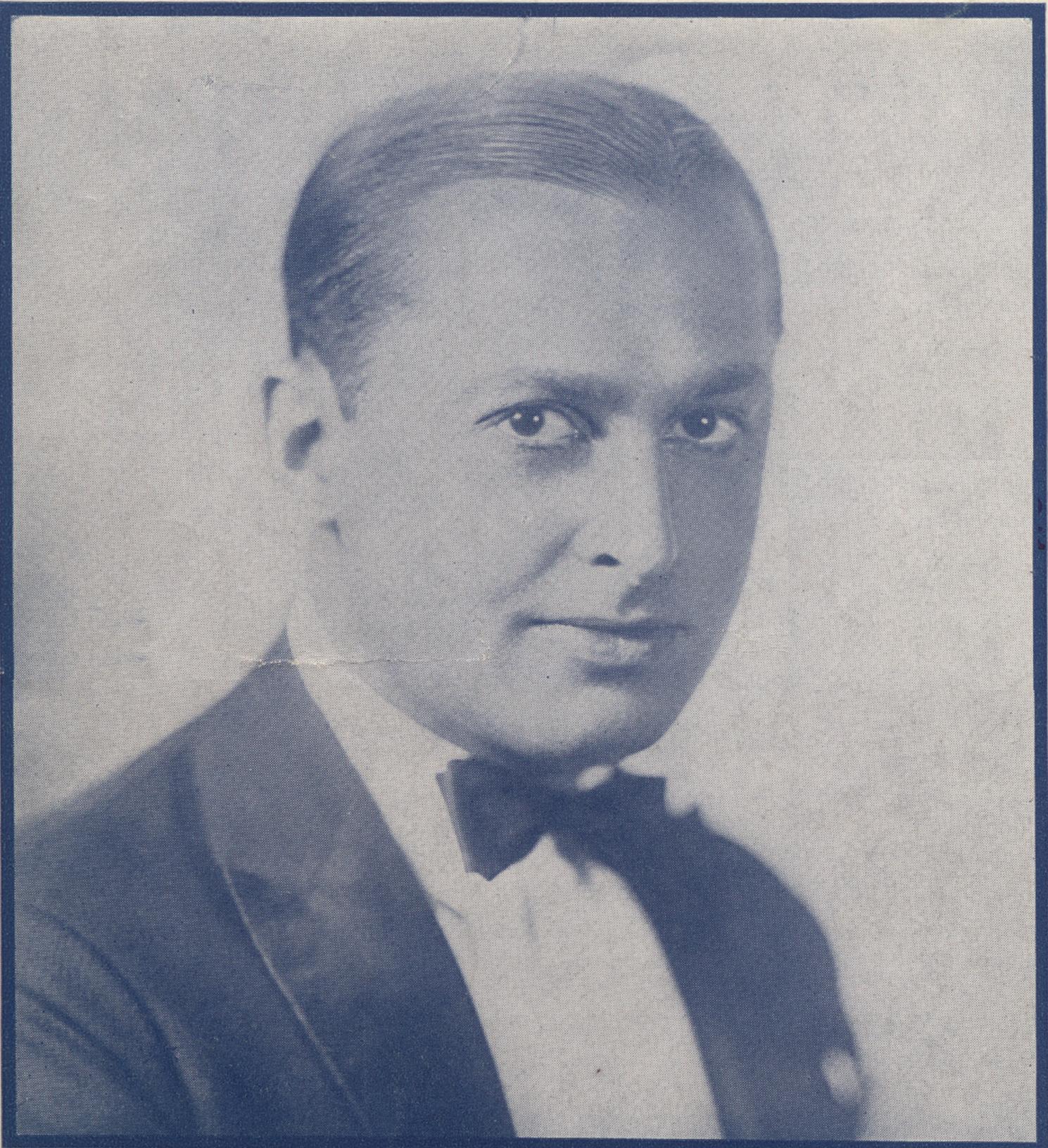 Ben Bernie as seen on early 1930s sheet music