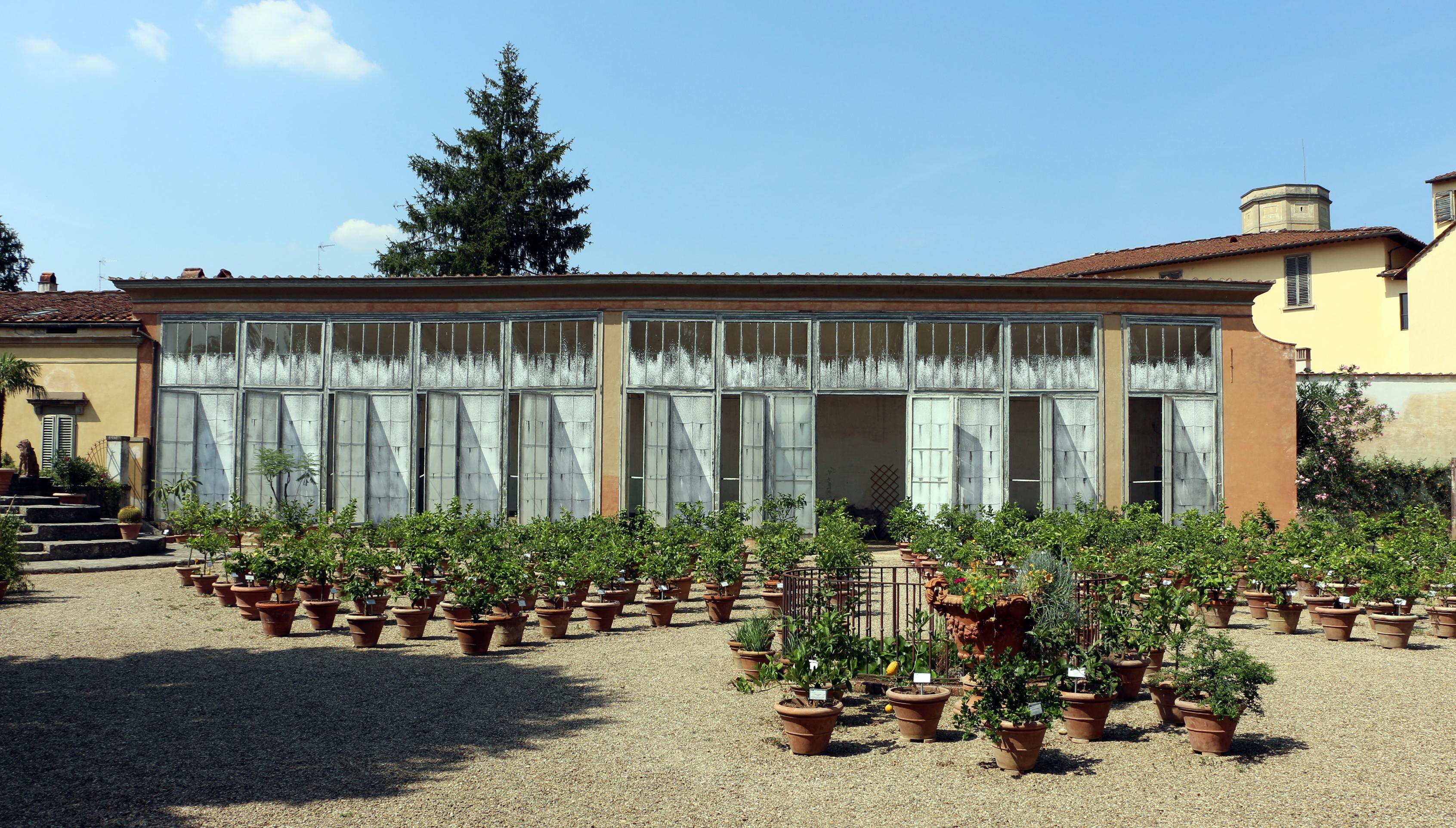 Limonaia giardino boboli for Carriola leroy merlin