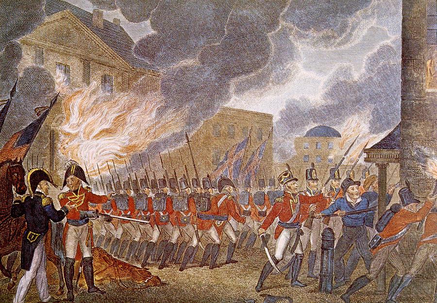 Bolivar, Padre Libertador. Bicentenario - Página 17 British_Burning_Washington