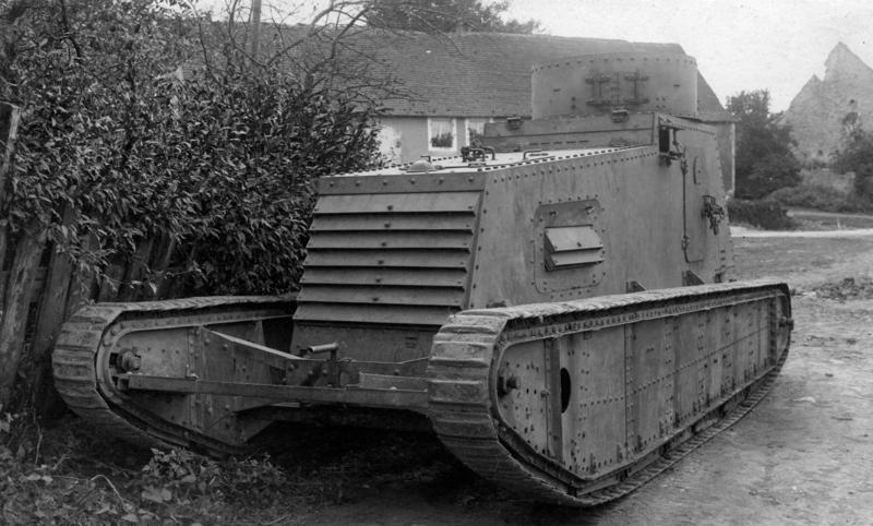Tenk iz Prvog svetskog rata