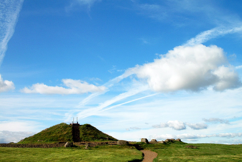 Cairnpapple Hill, West Lothian, Scotland.