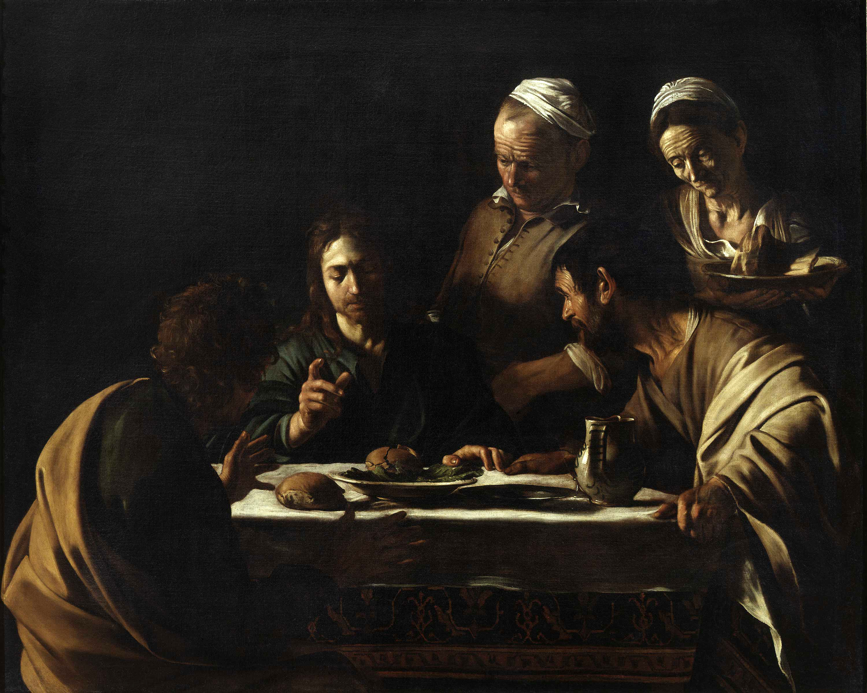 Supper at Emmaus (Caravaggio, Milan) - Wikipedia