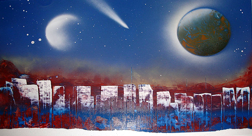 spray paint art wikipedia
