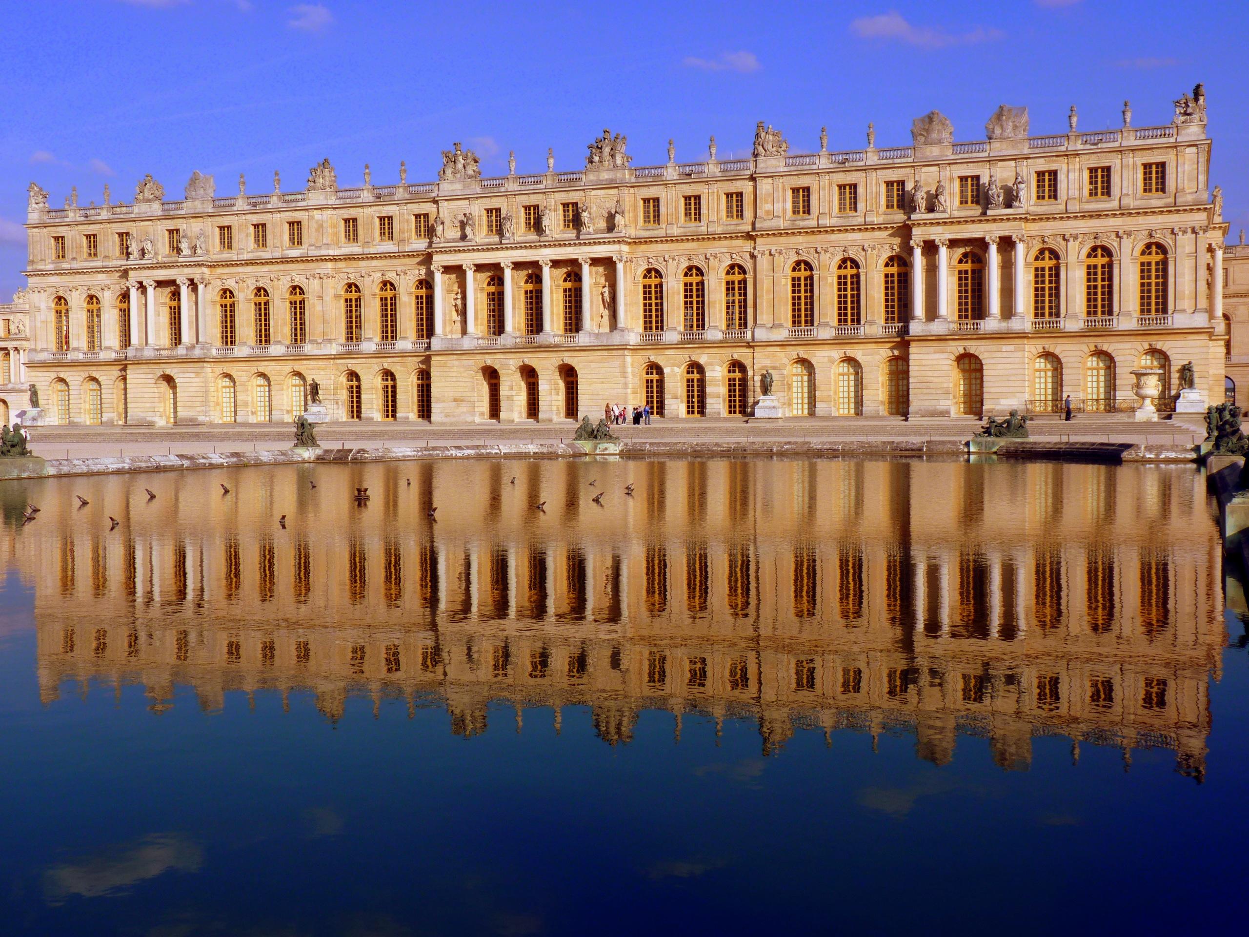 File ch teau de versailles vue du parc versailles jpg wikipedia - Photo chateau de versailles ...