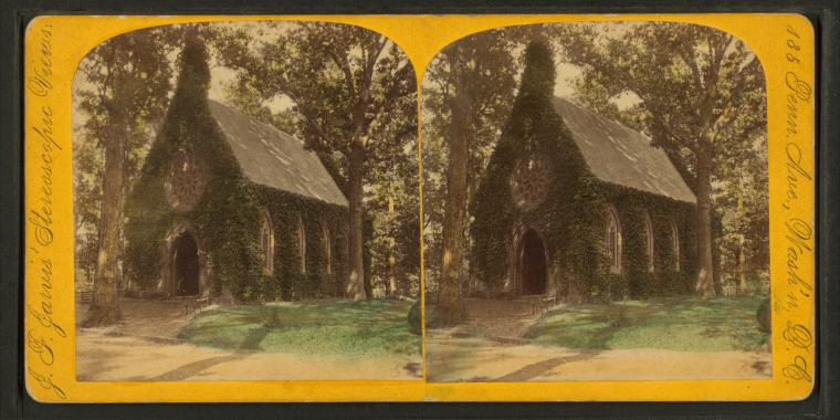 File:Chapel, Oak Hill Cemetery, Georgetown, from Robert N. Dennis collection of stereoscopic views 2.jpg