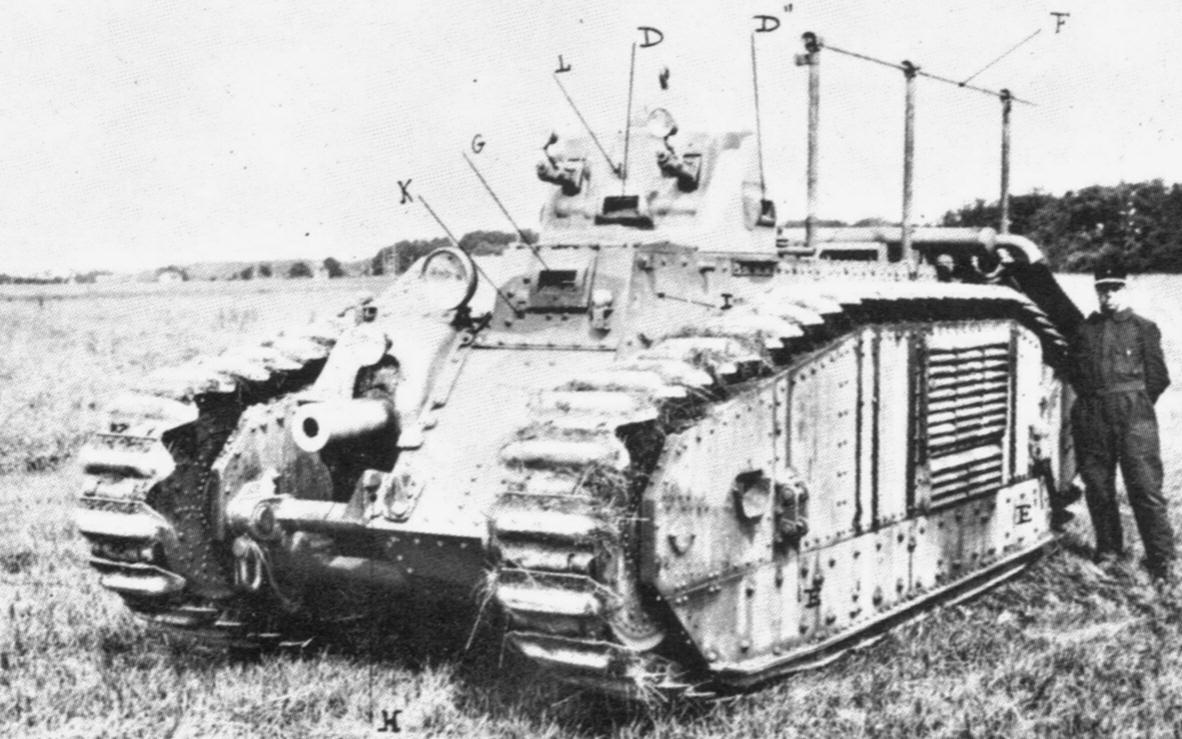 Armement et équipement Français en 1940 - Page 3 CharB