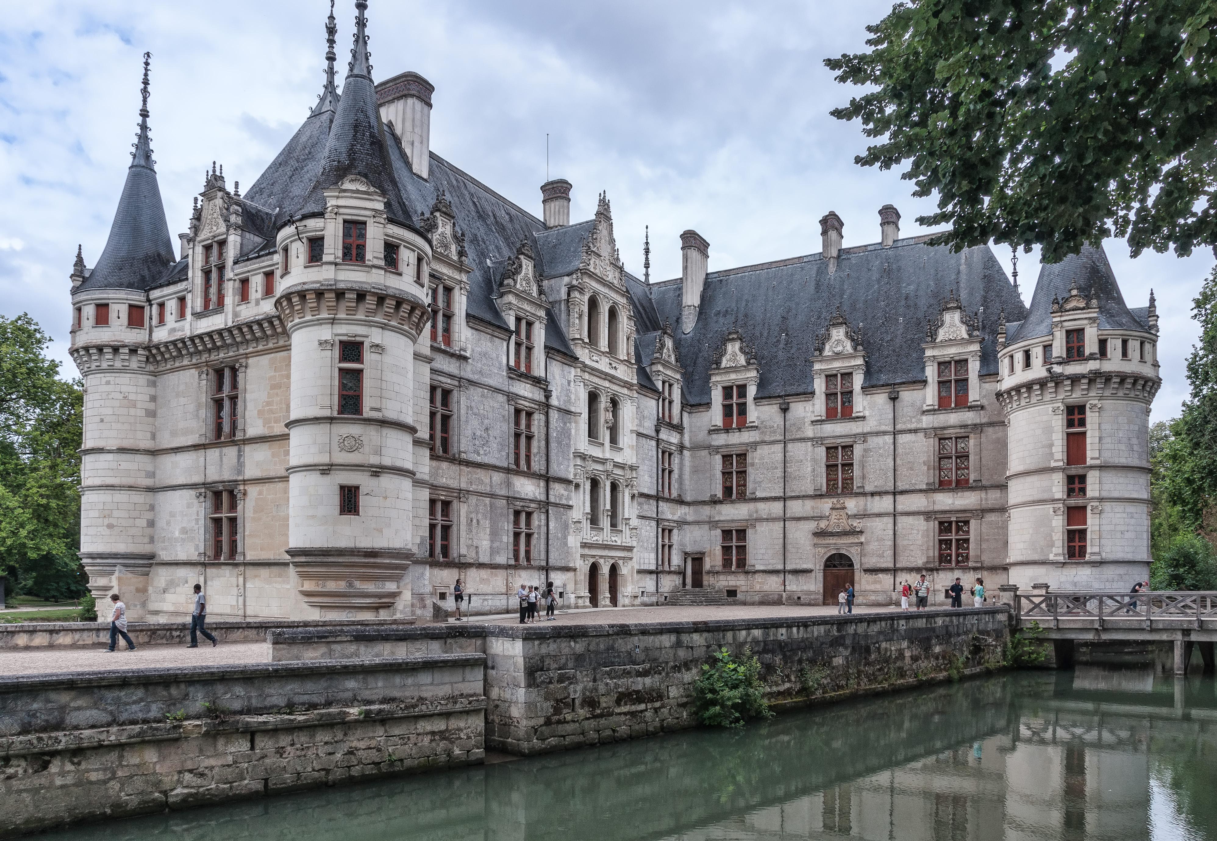 Azay le rideau ch teaux de la loire - Visite chateau azay le rideau ...