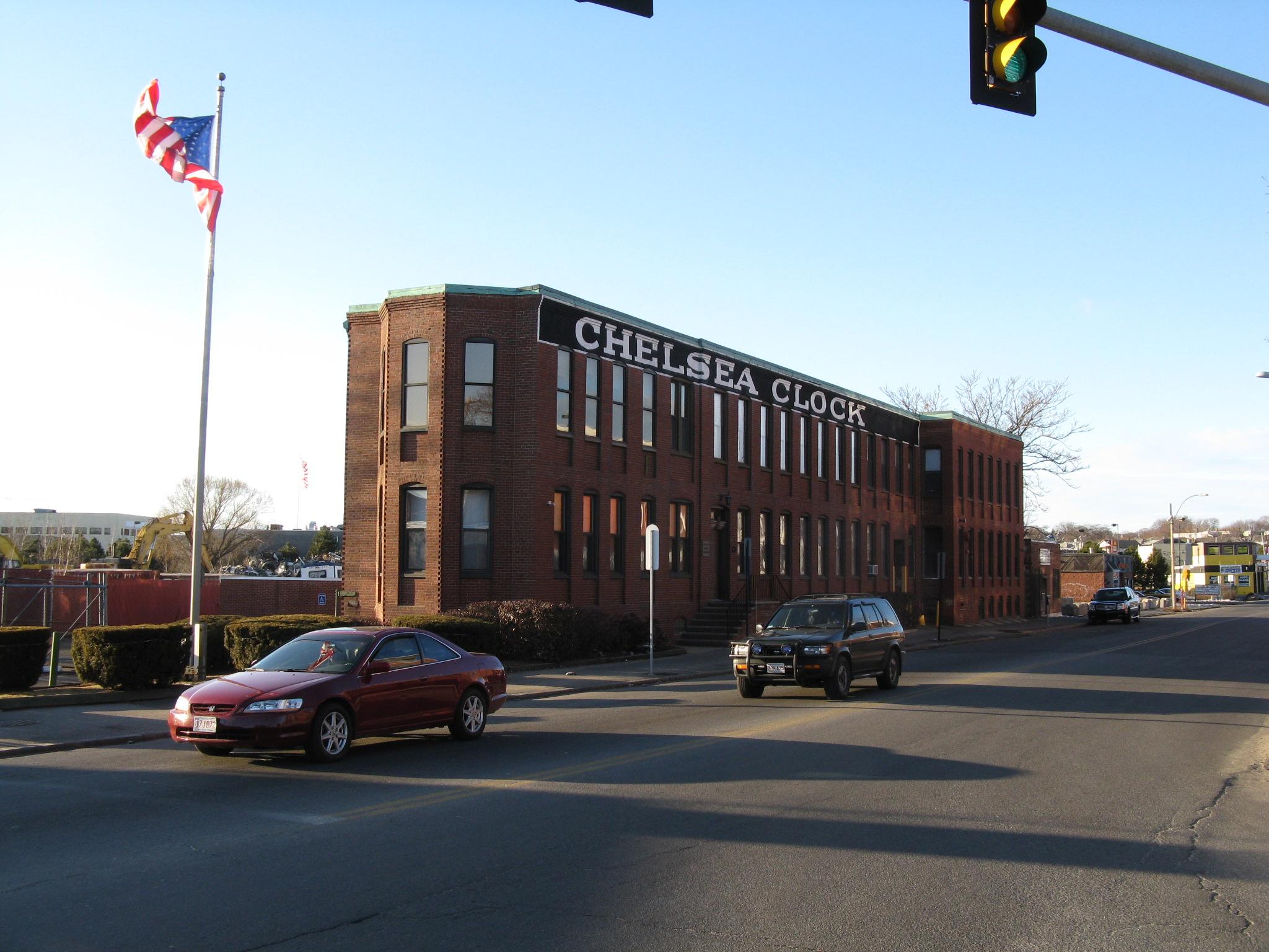 City Hall Of Chelsea Ma