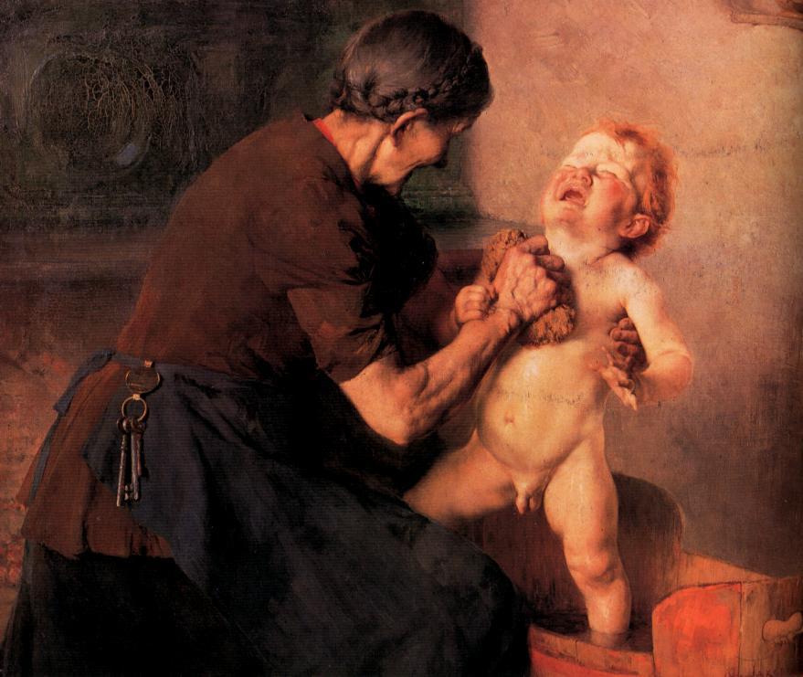 Kalte Dusche von Georgios Jakobides