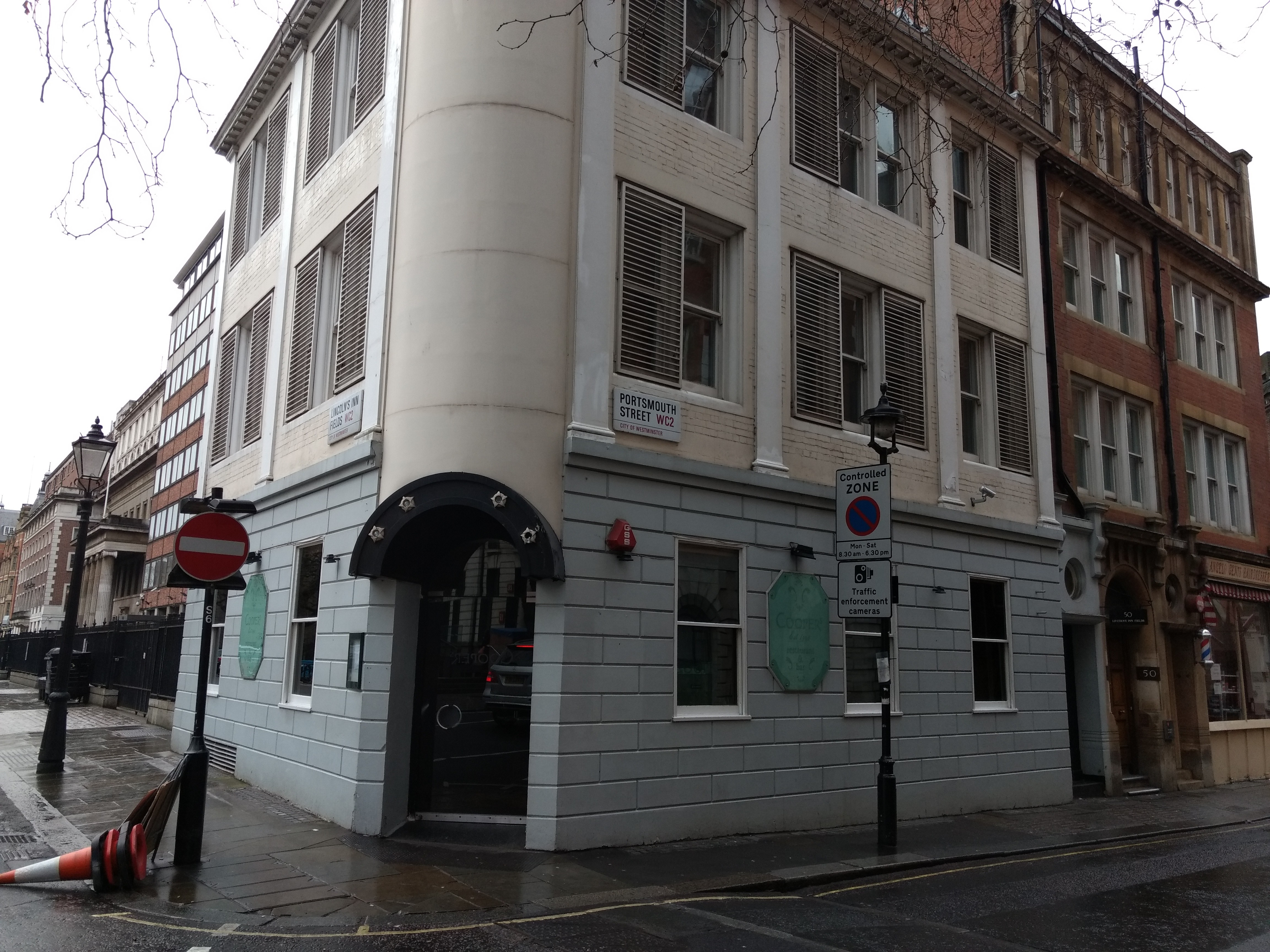 FileCoopers Restaurant Bar In Lincolns Inn Fields