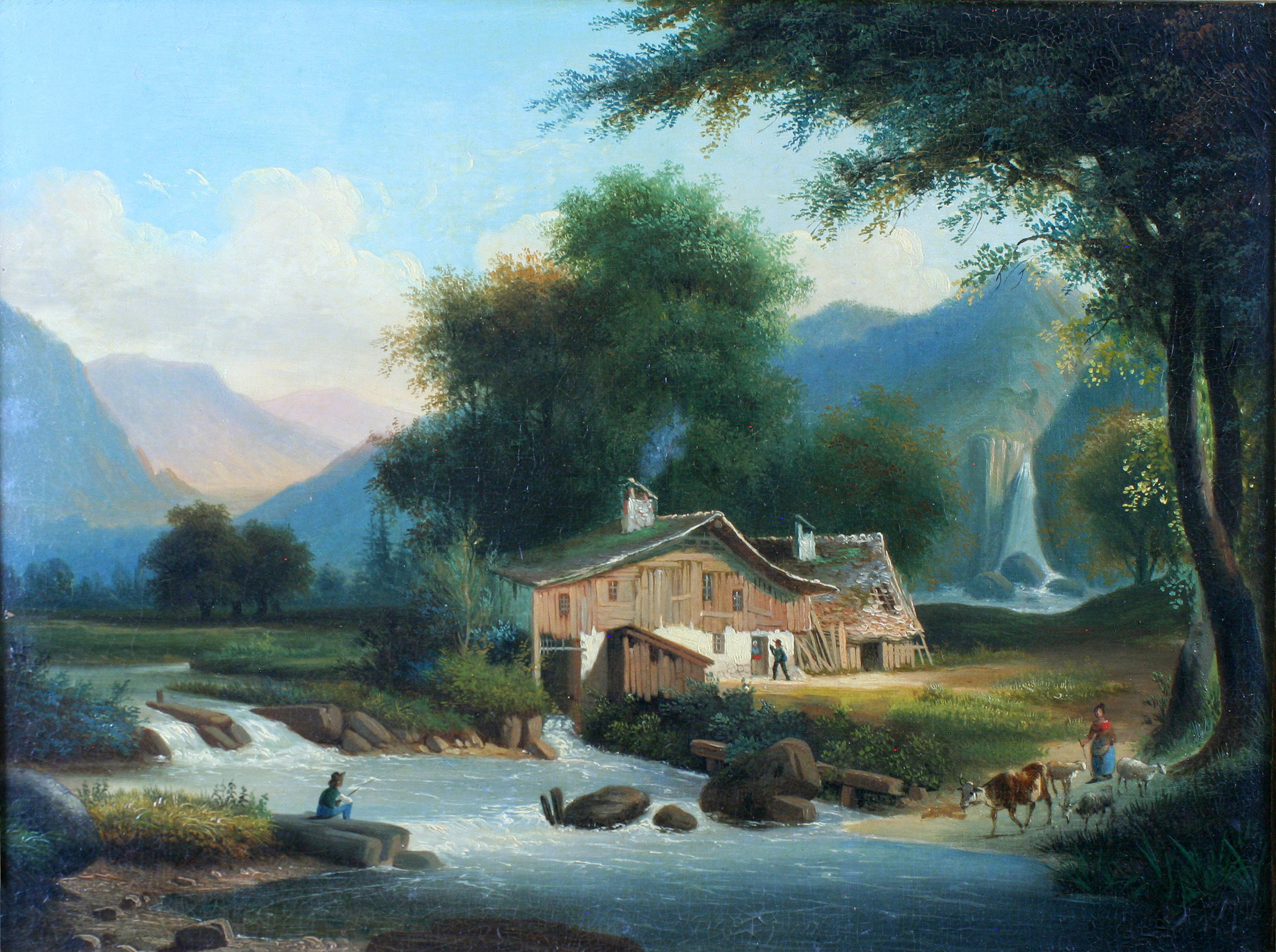 Cottage Paintings Images