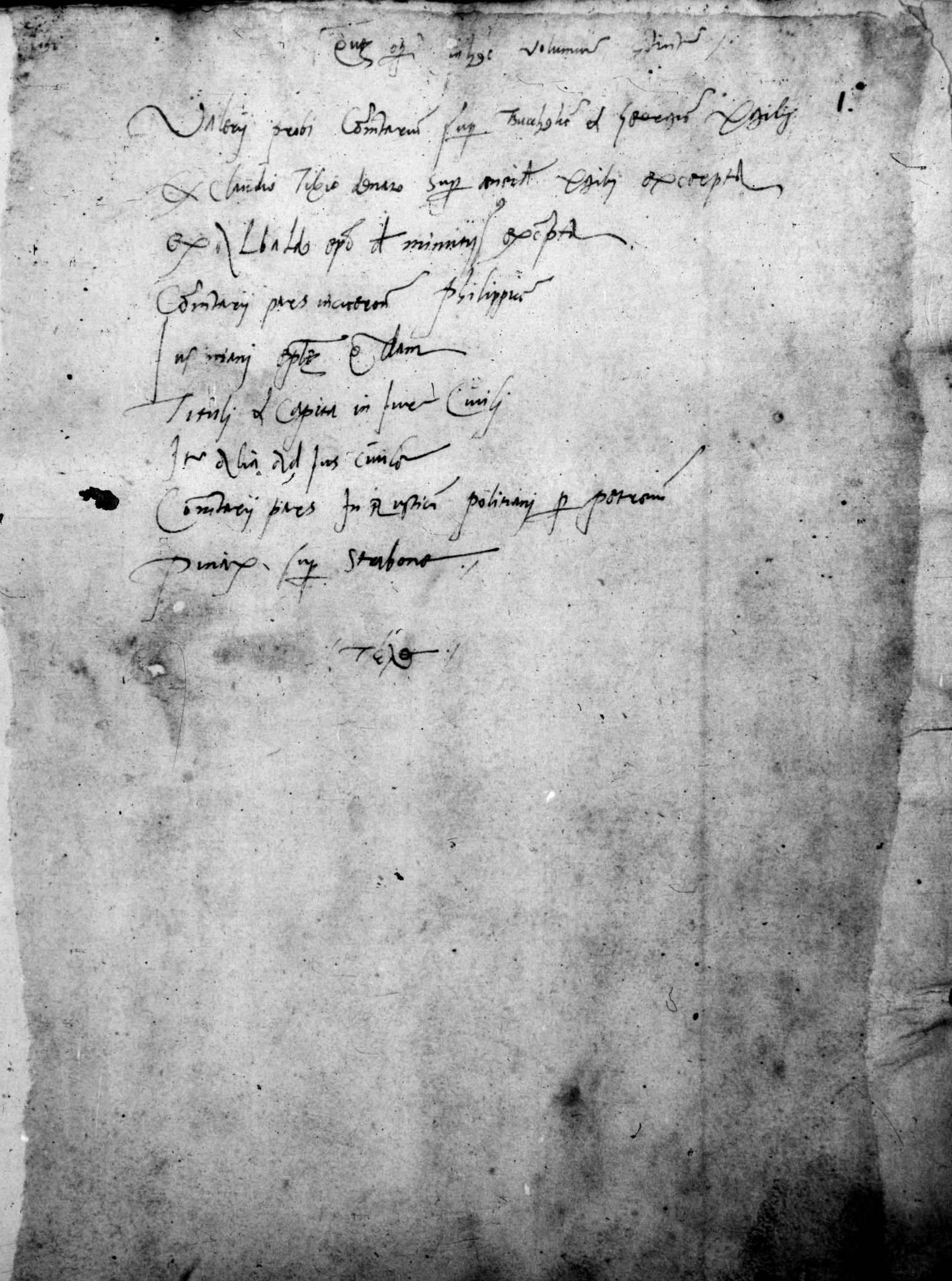 ''Collatio Litterae Florentinae'', 15th-century manuscript. [[Bayerische Staatsbibliothek