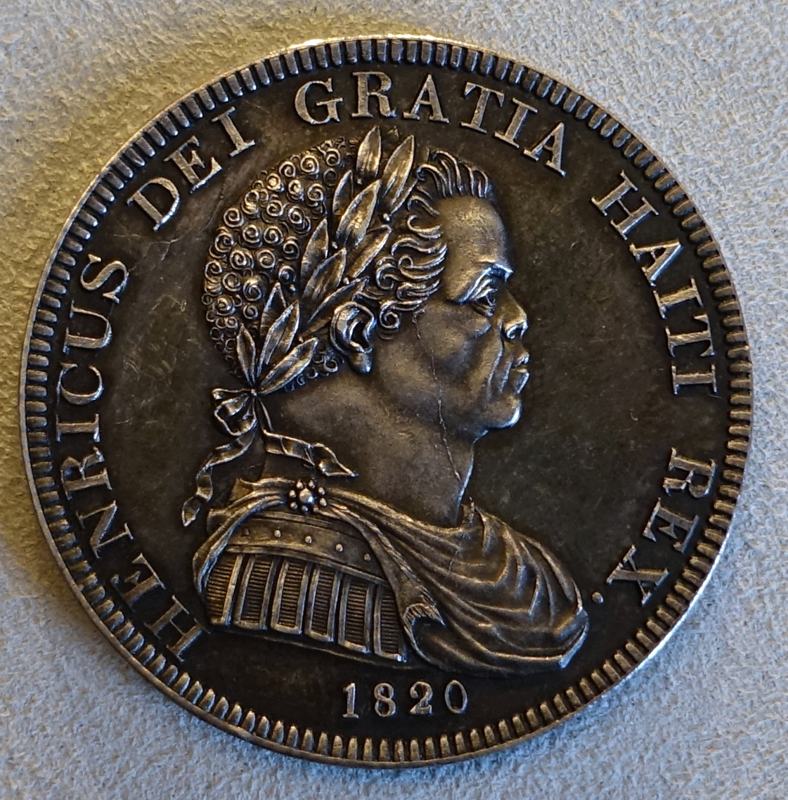 Crown, Henry I of Haiti (Henri Christophe), Haiti, 1820 - Bode-Museum - DSC02719.JPG