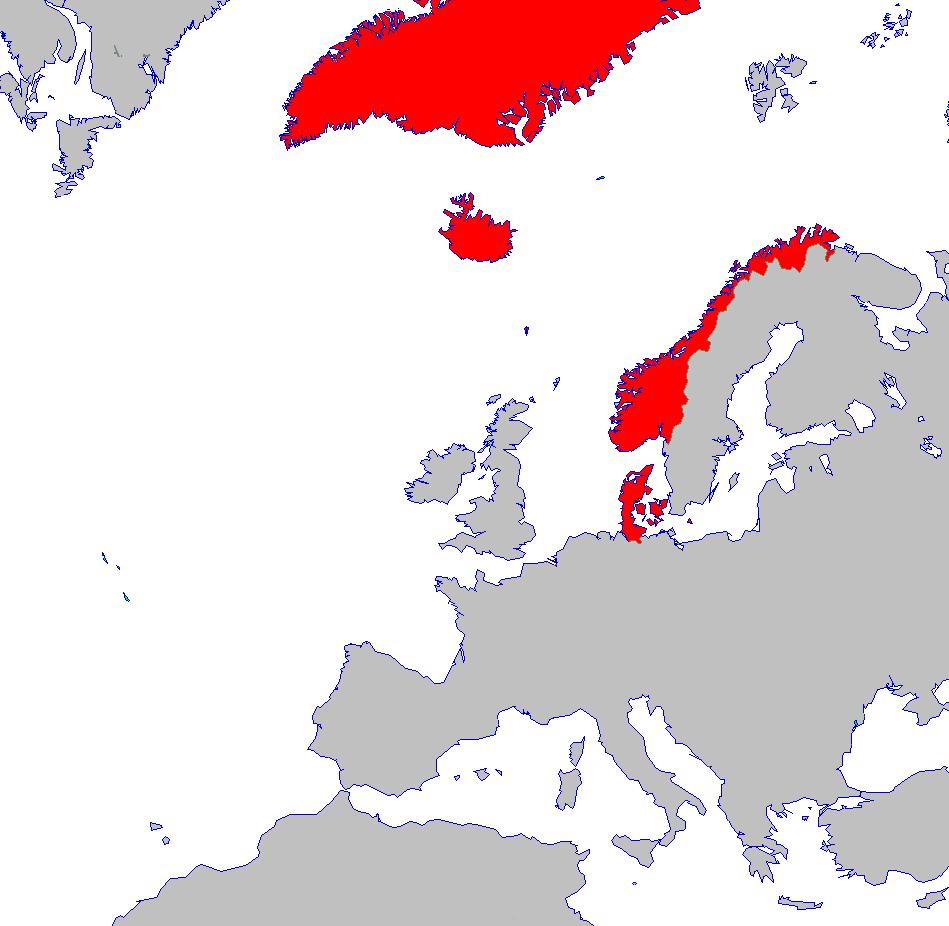 FileDenmarkNorway In PNG Wikimedia Commons - Norway denmark map