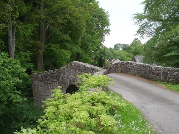 Doune, the Old Bridge over Ardoch Burn - geograph.org.uk - 1323494