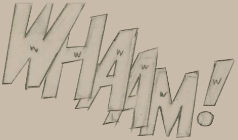 Drawing for 'Whaam!' cropped 2.JPG