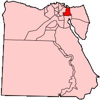 イスマイリア県の県域