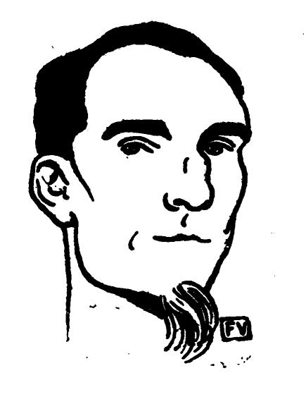 Феликс Валлотон Портрет Фенеона 1898г.