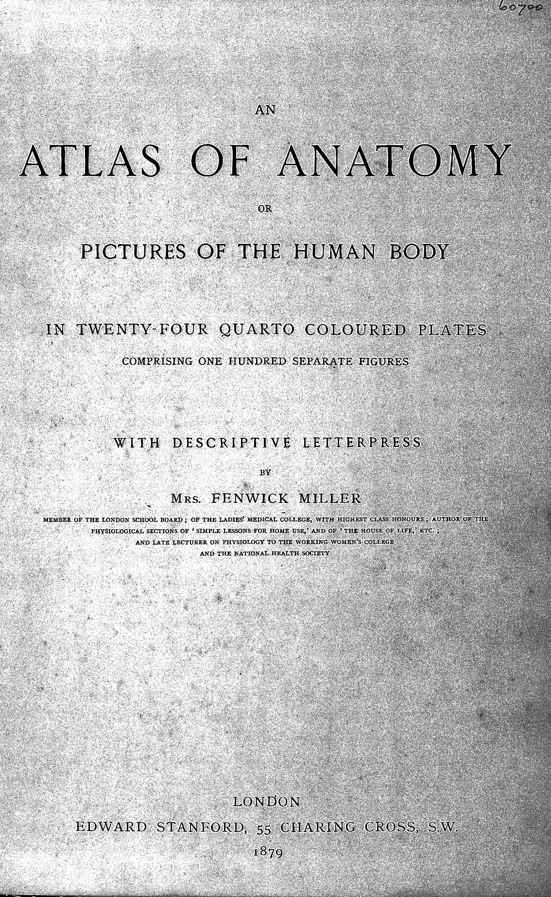 ''An atlas of anatomy''