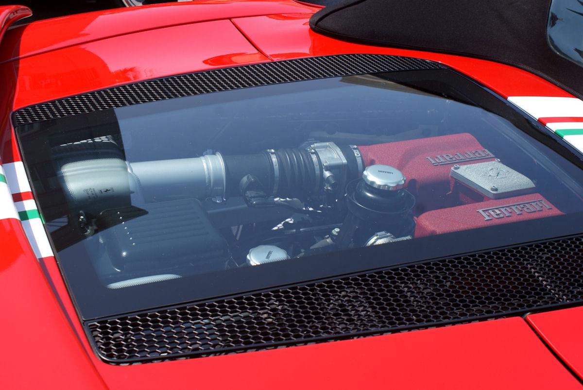File Ferrari 360 2003 Challenge Stradale Spider Engine Cecf 9april2011 14600901425 Jpg Wikimedia Commons