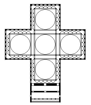 Le Symbolisme Chrétien - 19 eme siècle - Angleterre ( Images) Floor_plan_of_the_former_Church_of_the_Holy_Apostles