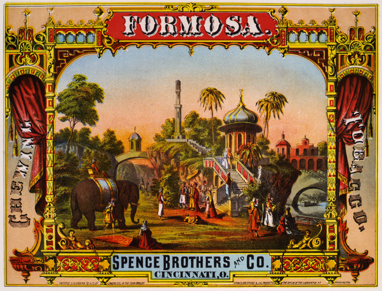 File:Formosa, chewing tobacco label, 1872 jpg - Wikimedia Commons