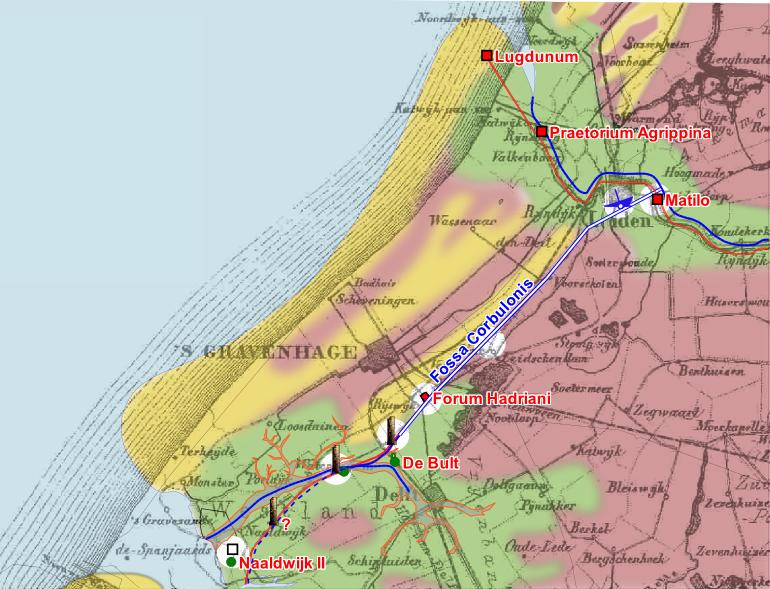 Archivo:Fossa Corbulonis map.png