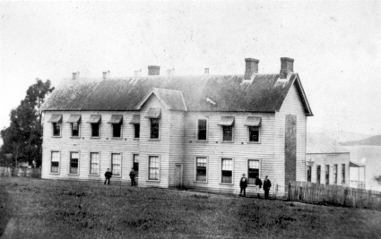 The General Assembly House in Auckland, 1861 General Assembly House, 1861.png