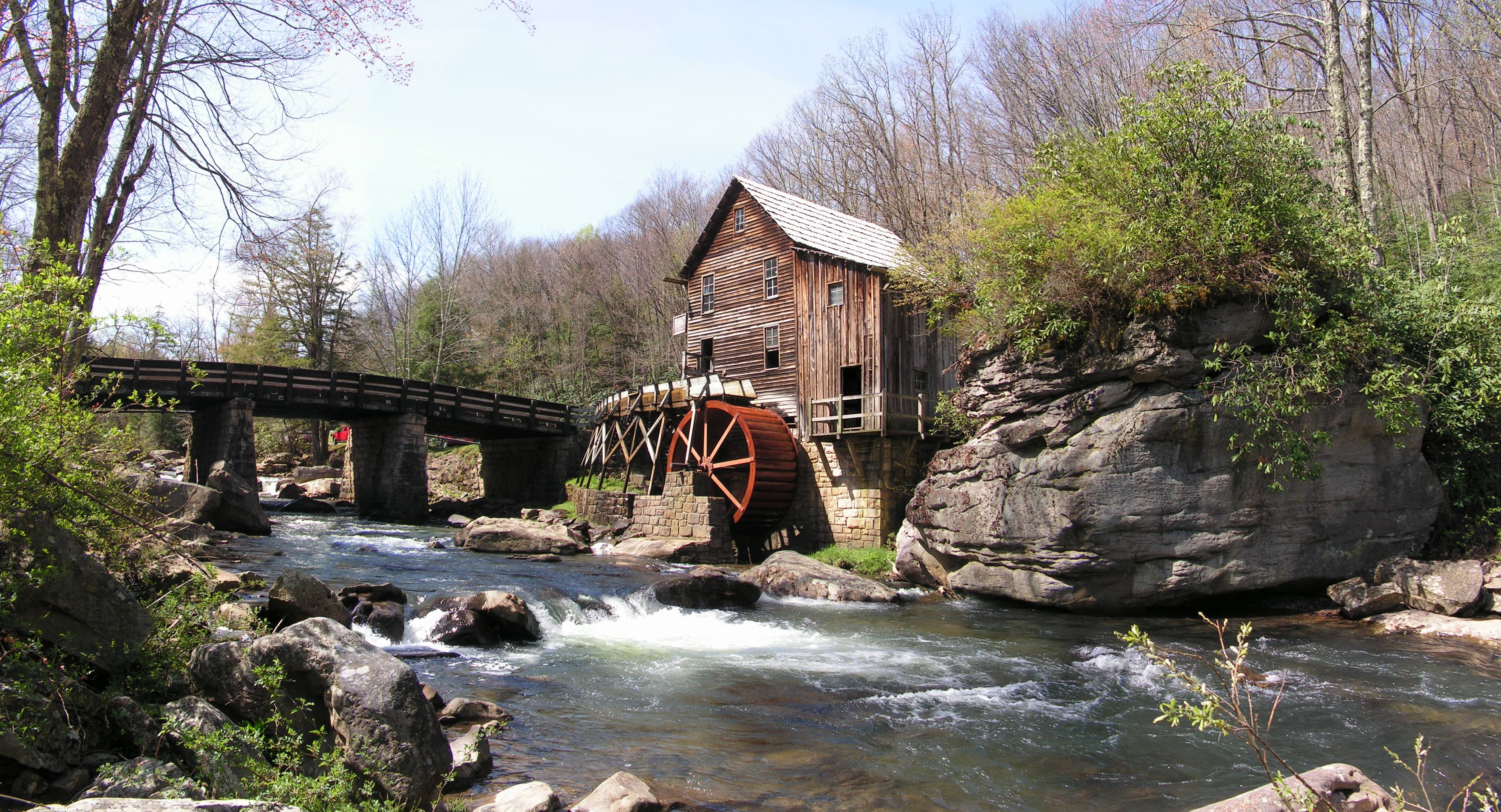 File Glade Creek Grist Mill Jpg Wikimedia Commons