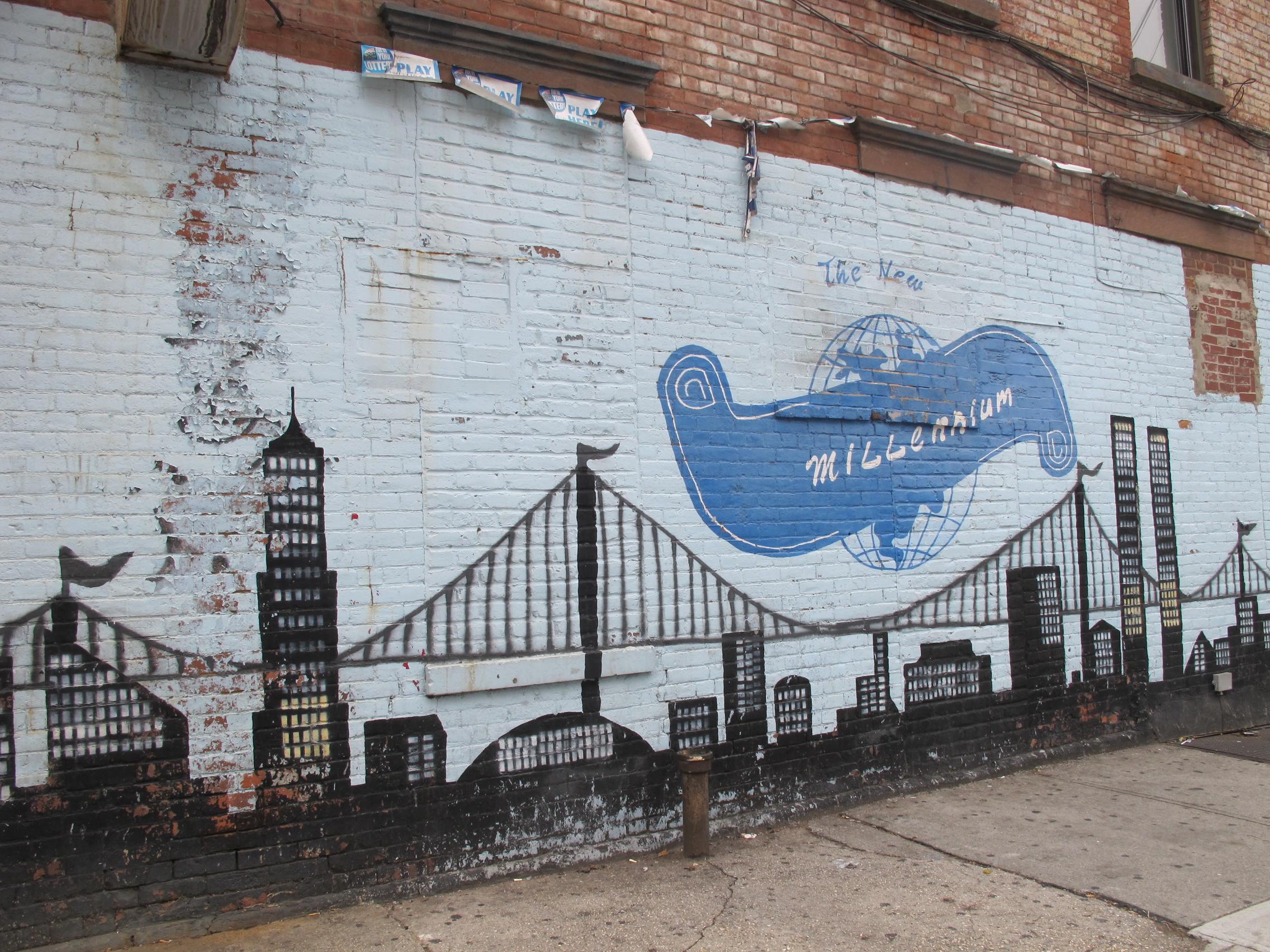 Superior Brooklyn Graffiti #1: Graffiti_at_Albany_Avenue_(Brooklyn).JPG