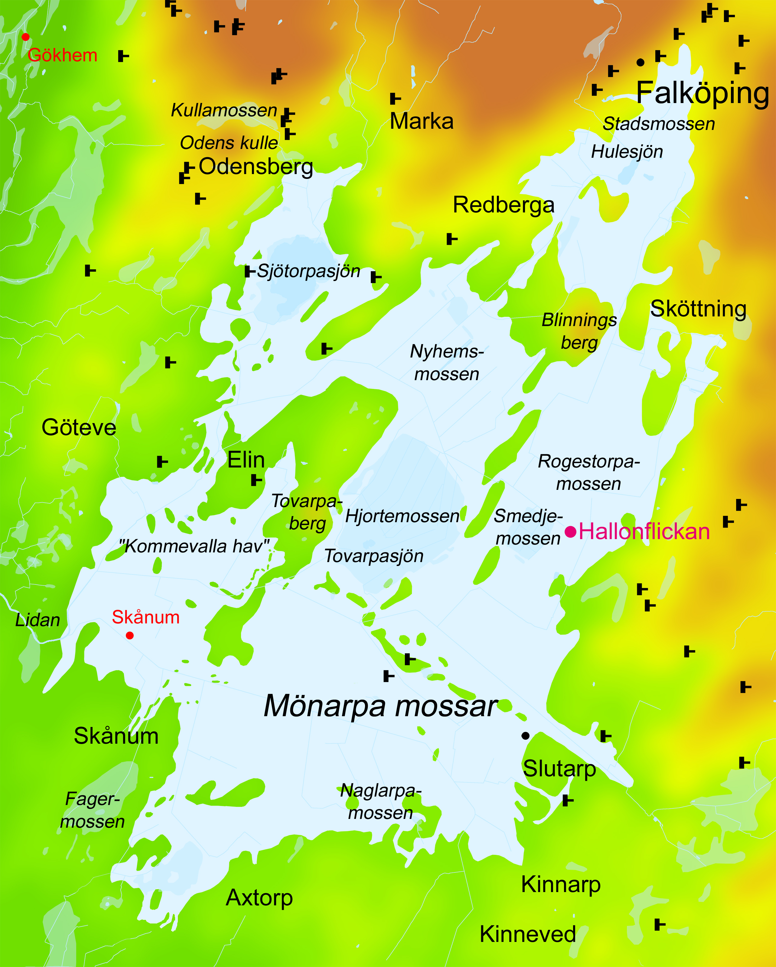 File Hallonflickan Karta Over Monarpa Mossar Jpg Wikimedia Commons